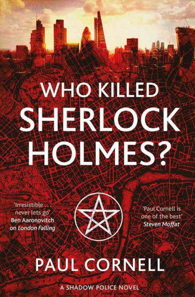 WHo Killed Sherlock Holmes cover art