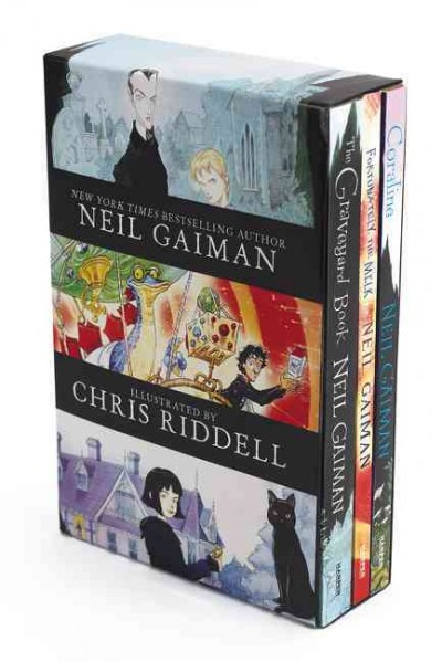 Gaiman Box Set art
