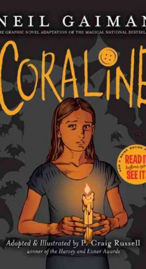 Coraline GN cover art
