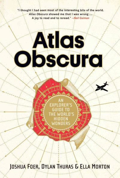 Atlas Obscura cover art
