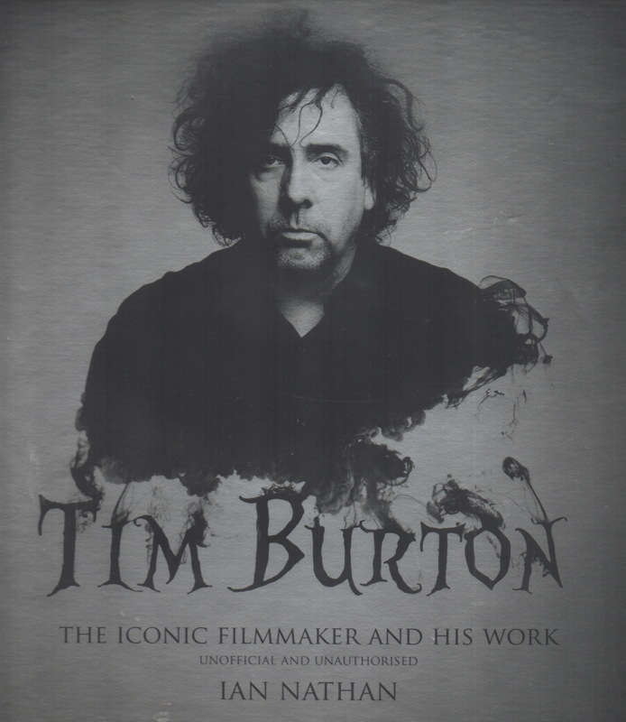 Tim Burton cover art