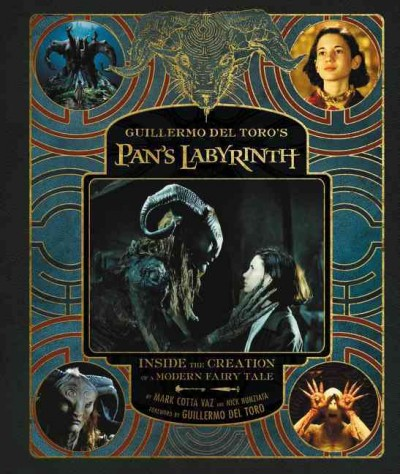 del Toro's Pan's Labyrinth cover art