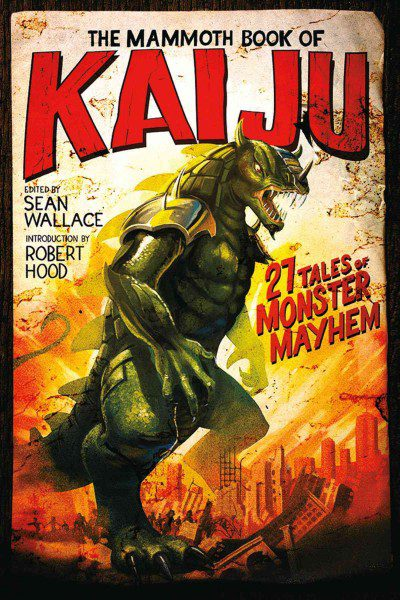 mammoth Book of Kaiju cover art