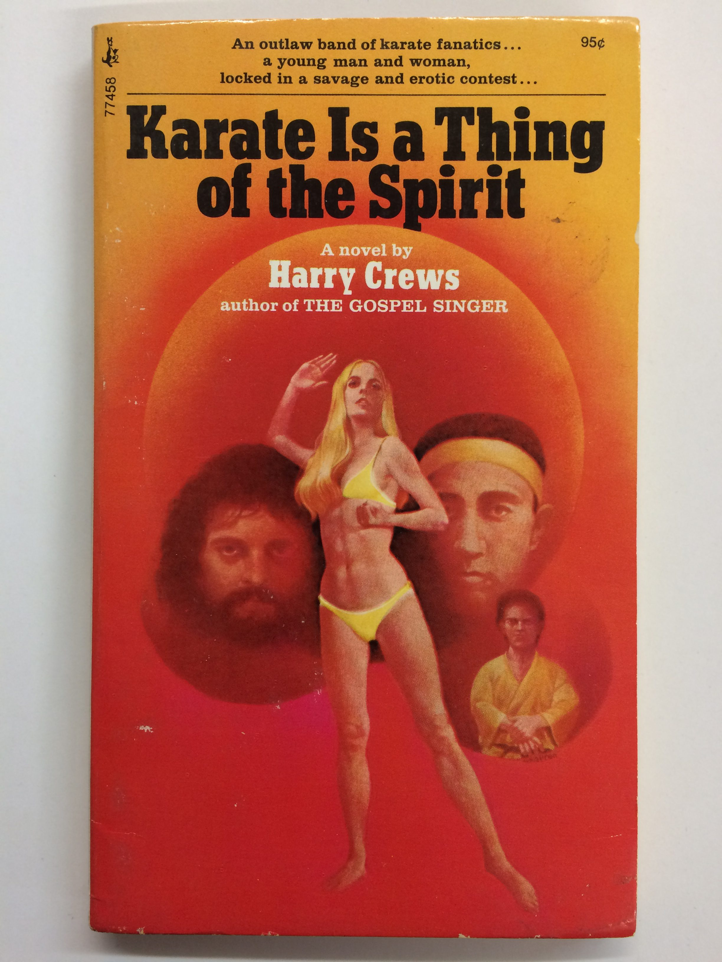 Karate is a Thing of the Spirit, Harry crews