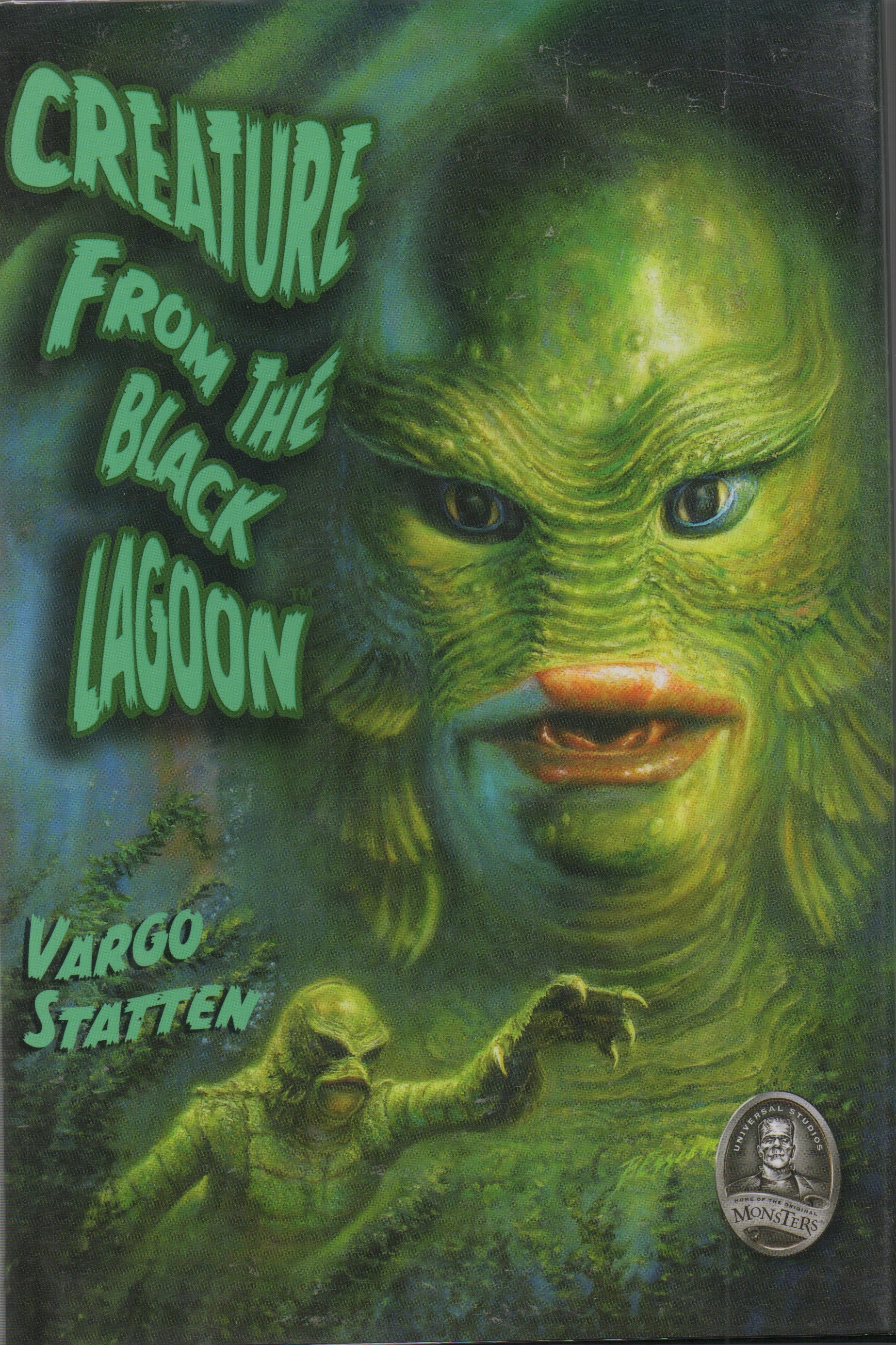 Black Lagoon Book Cover ~ Creature from the black lagoon dreamhaven